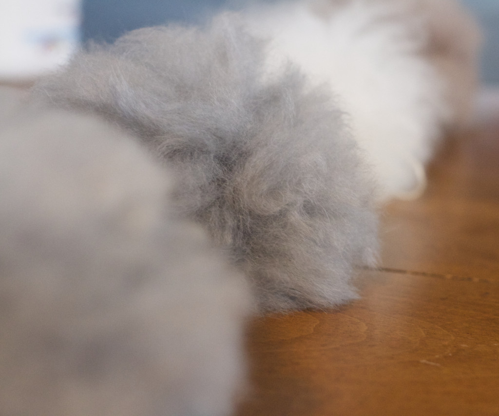 Fluffy wonderful pom pons from TOFT