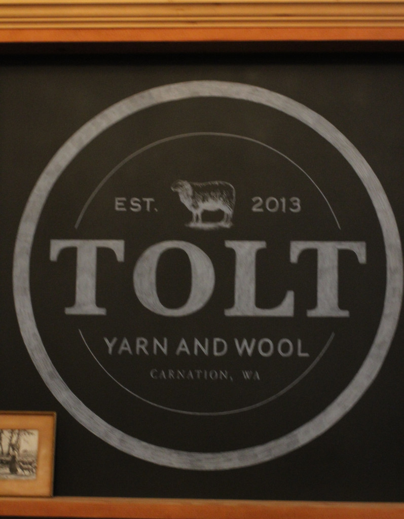 Tolt Chalkboard at Tolt Yarn & Wool (Carnation, WA)