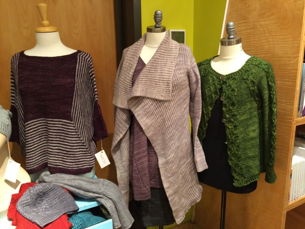 It was so great to see the Interpretations 2 trunk show at Happy Knits