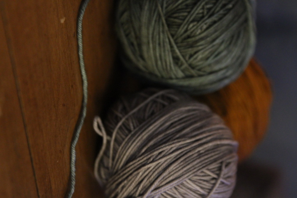 These days it seems easier to say no to buying yarn than winding it for a project.