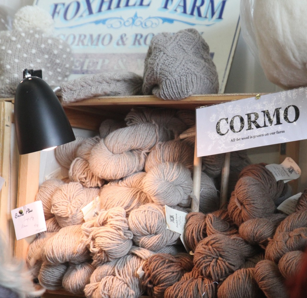 Foxhilll Farms Cormo (aka the place where I went nuts)