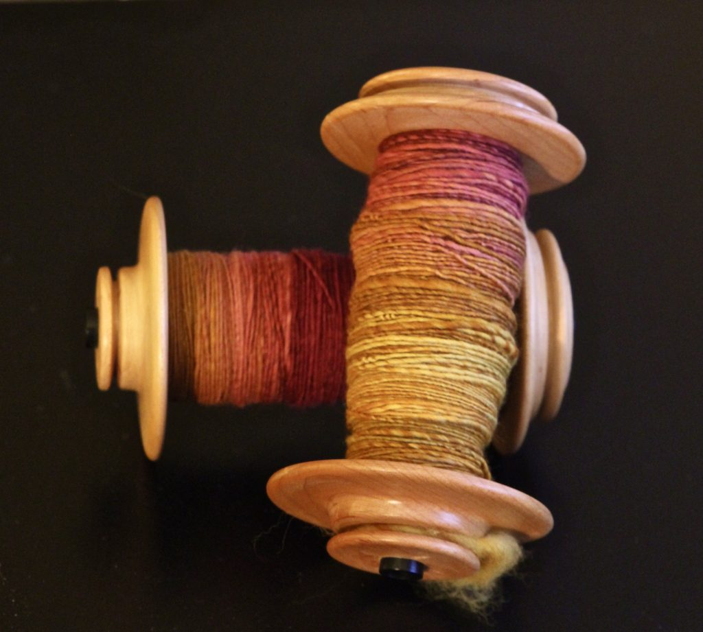 Alpine glow awaiting to be plied