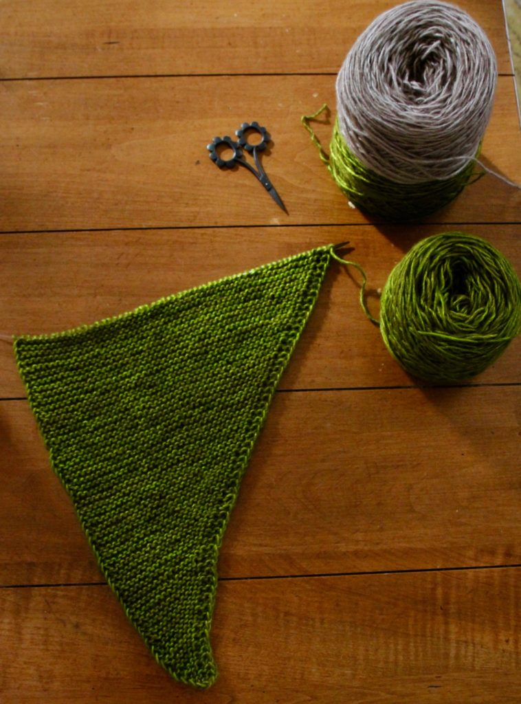 Chilll Chaser by Amy Miller.... Okay can we just talk about the yarn. Spiffy by the Plucky Knitter. I love everything about this base.. it is quickly becoming a leading contender for my one of my top five bases from the Plucky Knitter